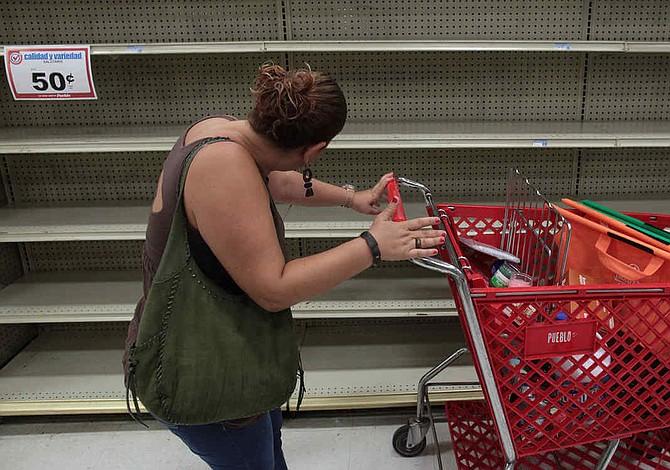 Puerto Rico: Supermercados continúan desabastecidos