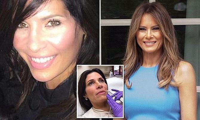 Claudia Sierra se gastó 50 mil dólares para parecerse a la primera dama
