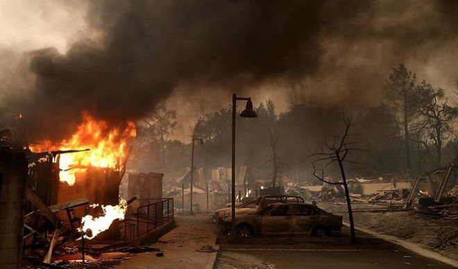 Crisis en California por incendios