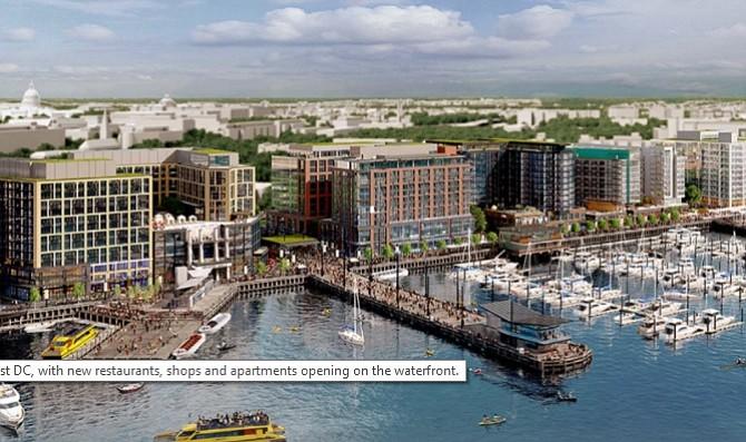The District Wharf celebrará su apertura con un fin de semana de actividades