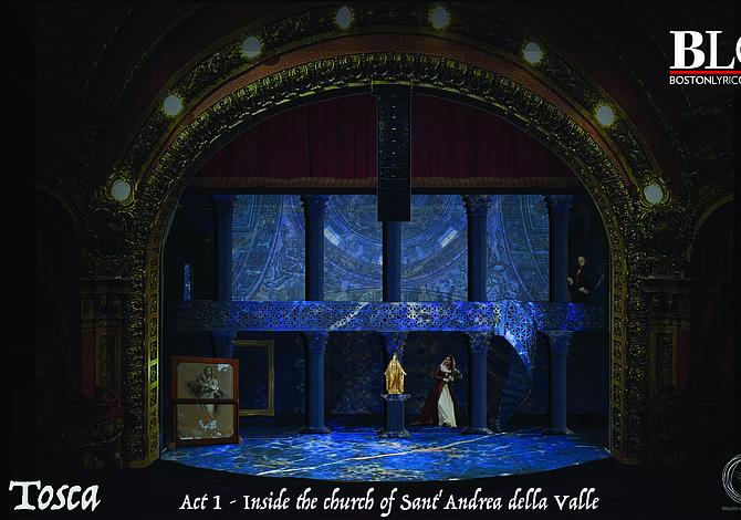 Boston Lyric Opera presentará Tosca de Puccini