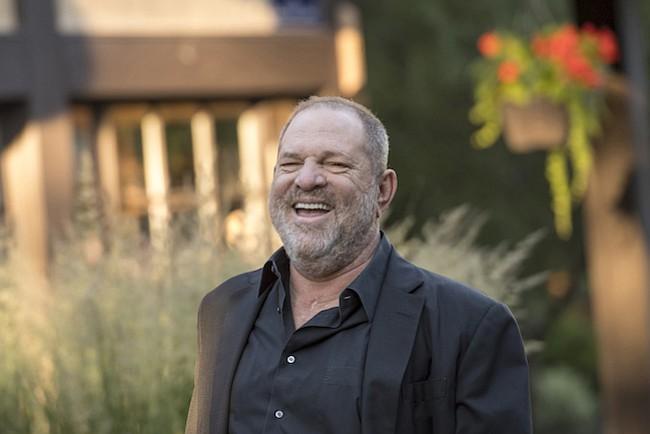 Harvey Weinstein, co-presidente y fundador de Weinstein Co., en Sun Valley, Idaho, en julio de 2017.