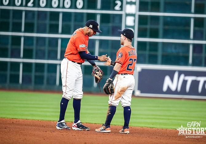 Astros ganan el primero en la serie de campeonato de la Americana