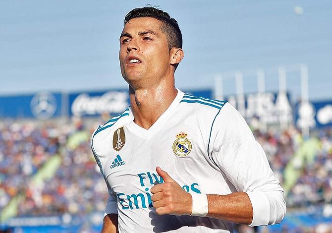 Madrid supera al Getafe con gol de Cristiano Ronaldo en el 85