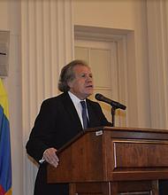 """Almagro: """"Tenemos que volver a reconstruir la democracia, el Estado de Derecho y Justicia en Venezuela"""""""