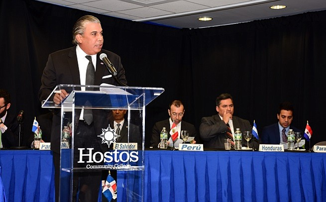 Cónsules países hispanos en NY celebran encuentro