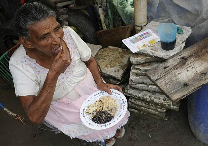 Prevalece el hambre en El Salvador