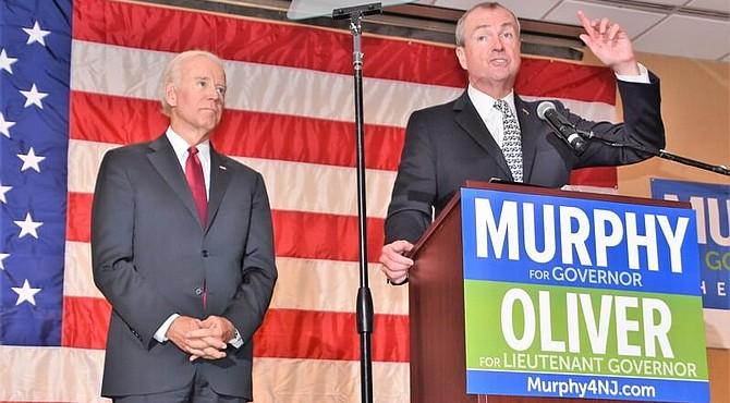 Phil Murphy recibe el apoyo de Obama.