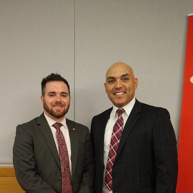 Ben Pitkow y Jeison Silk de Santander Bank