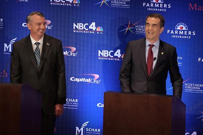 Los Demócratas están nerviosos por las elecciones de gobernador en Virginia