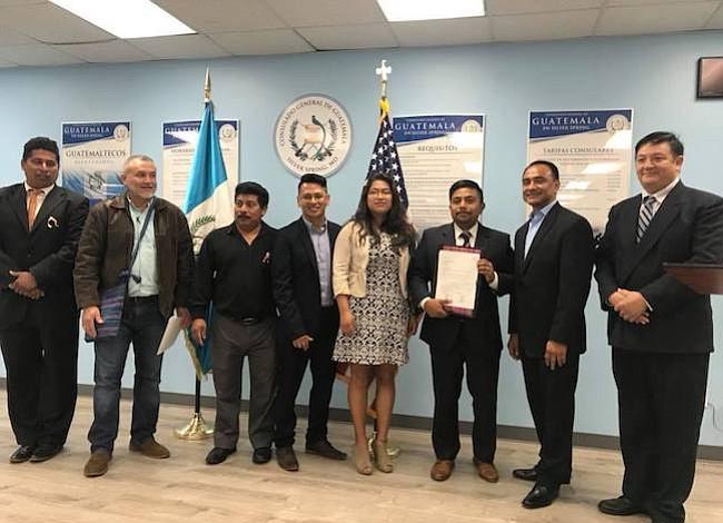 Proclaman el Día del Guatemalteco Americano en Prince George's y el Distrito de Columbia