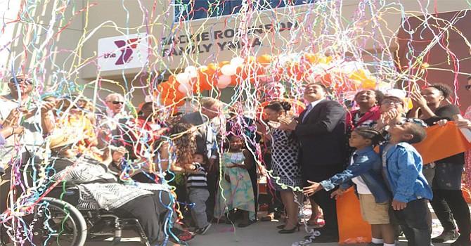 Otro aspecto de la inauguración. Foto-Cortesía: YMCA del Condado de San Diego.