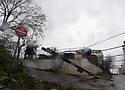 El sistema eléctrico de Puerto Rico quedó destrozado por el huracán María