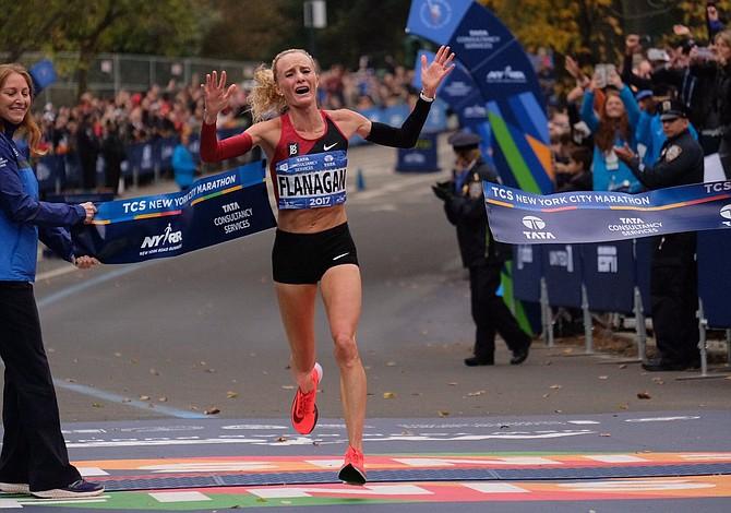 Estadounidense Shalane Flanagan logró histórica victoria norteamericana en el Maratón de Nueva York