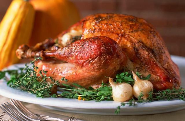 Receta clásica de Pavo para el Día de Acción de Gracias