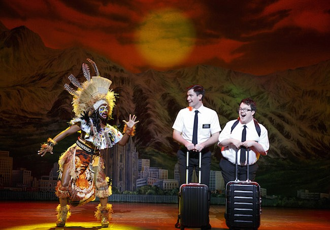 "Continúa con éxito ""The Book of Mormon"" en el Kennedy Center"