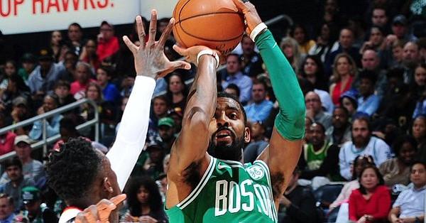 Con 35 puntos de Kyrie Irving los Celtics alcanzaron su noveno triunfo consecutivo