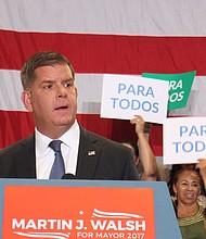 Alcalde Marty Walsh