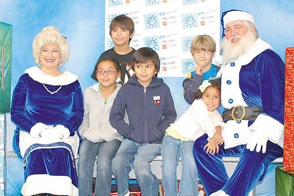 Operación Blue Santa dibujará sonrisas en los niños pobres