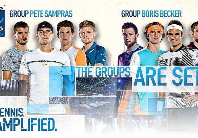Rafael Nadal y Roger Federer estan listos para el Torneo de Maestros