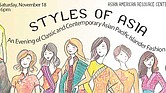 'Styles of Asia'