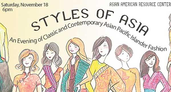 Disfrute de la moda asiática