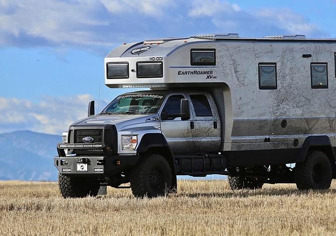 La caravana para sobrevivir al fin del mundo cuesta 1,3 millones