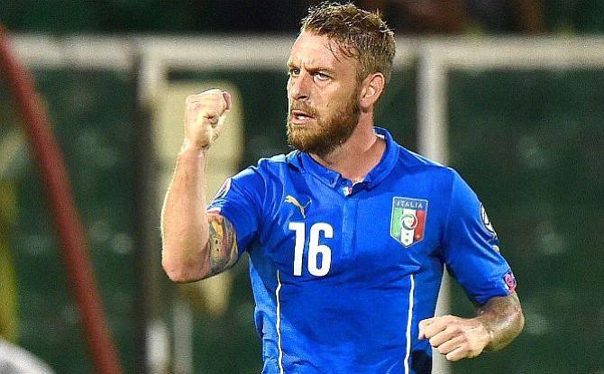 """De Rossi: """"No ir al Mundial es algo que no queremos considerar"""""""
