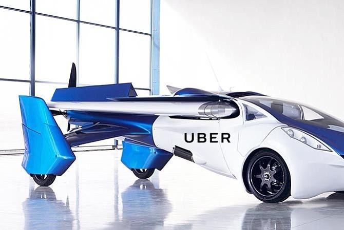 Uber y NASA se unen para crear el coche volador en 2020