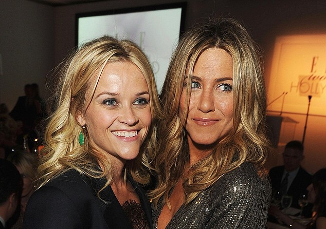 Aniston y Witherspoon protagonizarán una serie para Apple