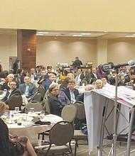 """El Embajador de México en Estados Unidos, Gerónimo Gutiérrez, externó su admiración hacia """"Los Dreamers"""". Foto-Cortesía:  Jorge Nieto."""