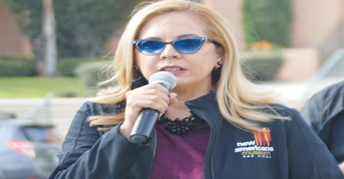 Linda Caballero Sotelo, directora del Nuevo Museo Americano de San Diego (New American Museum, SD). Foto: Horacio Rentería/El Latino.