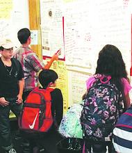 Estudiantes que acuden al Nuevo Museo Americano aprenden sobre el significado de ser Inmigrante. Foto-Cortesía.