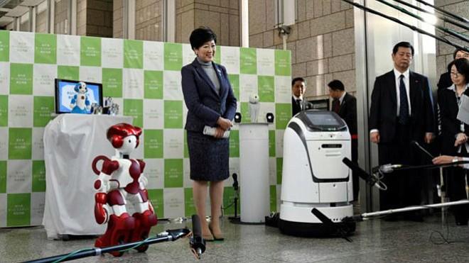Tokio prueba robots políglotas para los Juegos Olímpicos de 2020