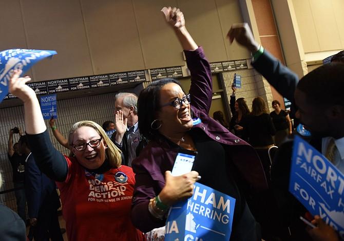 Un electorado entusiasta y más polarizado de Virginia le dio a Northam la victoria