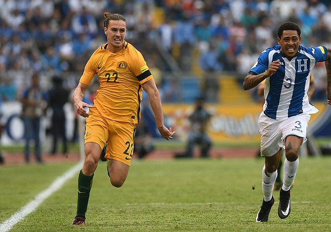 Honduras y Australia no se hacen daño en el partido de ida de la repesca