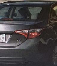 Su vehículo, en el que se le vio por última vez, el 4 de octubre. Una semana después, sería encontrada muerta en Pala Road, en la frontera entre Temecula y Riverside.