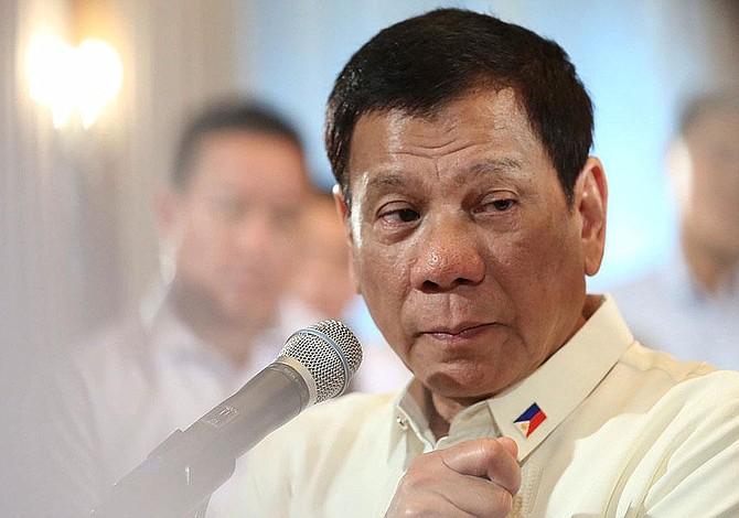 Duterte revela que cuando tenía 16 años mató a alguien por una simple mirada