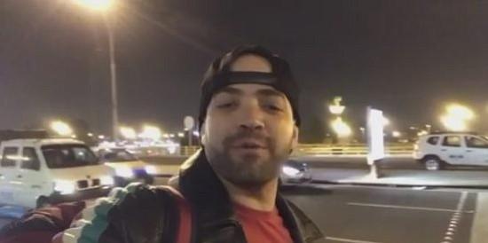 Nacho regresó a EEUU a través de Colombia