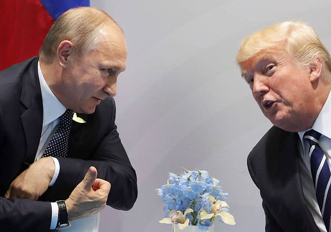 Donald Trump no se reunirá con Vladimir Putin