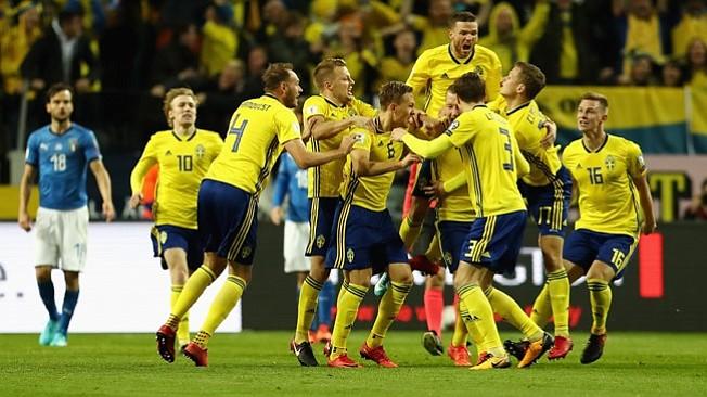 Rusia 2018: Suecia tiene la ventaja ante Italia