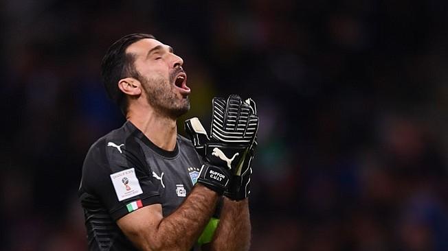 Italia empata 0-0 contra Suecia y no estará en Rusia 2018