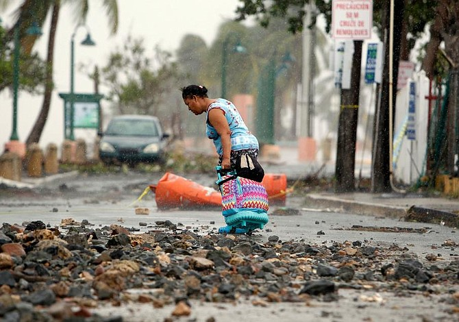 Puerto Rico asks US for $94 bn in aid after devastating hurricanes