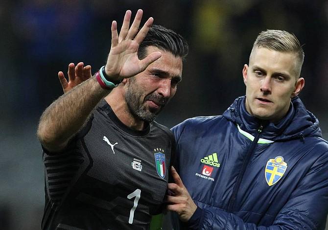 Buffon pone fin con una amarga debacle a una carrera de 20 años con Italia