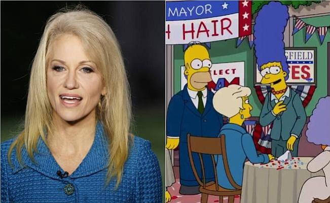 Los Simpson comparan asesora de Trump con el propagandista nazi Goebbels