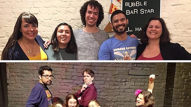 COMEDIA DE IMPROVISACIÓN. Latinx States of America (arriba) y Sábado Picante (abajo) son dos grupos de comedia de improvisación con un punto de vista latino.
