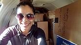 La doctora Dalian Caraballo de Miami ayuda a organizar el transporte de suministros. Médicos con los que había trabajado la contactaron para colaborar.
