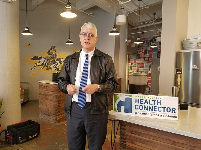 Louis Gutiérrez, director ejecutivo del Massachusetts Health Connector