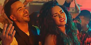 Luis Fonsi con Demi Lovato en Échame la culpa