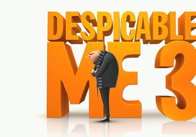 Despicable Me 3 disponible en digital 4K y blu-ray